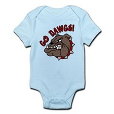 Go Dawgs Infant Bodysuit