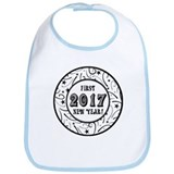 First New Years 2017 Milestone Bib