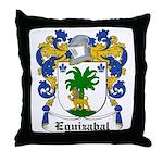 Eguizabal Coat of Arms Throw Pillow