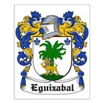 Eguizabal Coat of Arms Small Poster