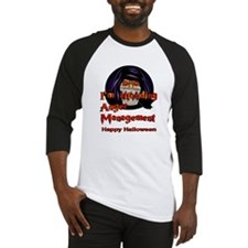 Creepy halloween guy Baseball Jersey
