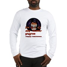 Creepy halloween guy Long Sleeve T-Shirt