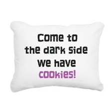 The Dark Side Rectangular Canvas Pillow
