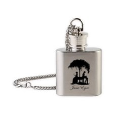 Jane Eyre Flask Necklace