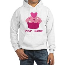 Personalized Cupcake Hoodie