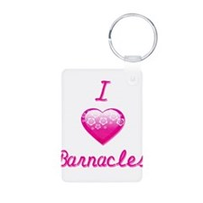 I Love/Heart Barnacles Keychains