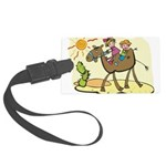 Cute Camel Large Luggage Tag