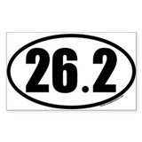 26.2 Oval Car Decal