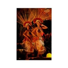Hawaii - Polynesian Dancers Magnet