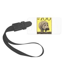 Vintage Philadelphia Zoo Luggage Tag