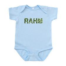 Rahm, Vintage Camo, Infant Bodysuit