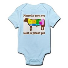 Meat to Please You Infant Bodysuit