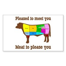 Meat to Please You Decal