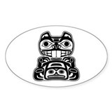 Beaver Native American Design Decal