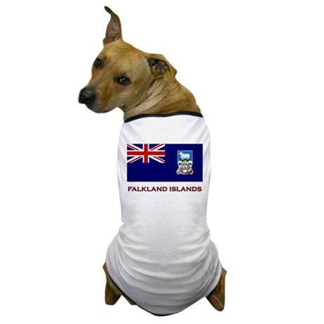 The Falkland Islands Flag Merchandise Dog T-Shirt