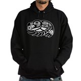 Raven Native American Design Hoodie