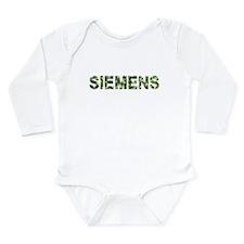 Siemens, Vintage Camo, Onesie Romper Suit