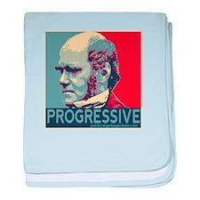 Progressive - Darwin baby blanket