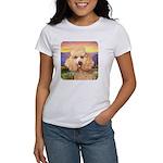 Poodle Meadow Women's T-Shirt