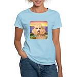 Poodle Meadow Women's Light T-Shirt