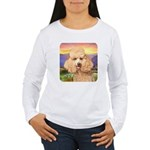 Poodle Meadow Women's Long Sleeve T-Shirt