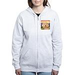 Poodle Meadow Women's Zip Hoodie