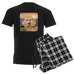 Poodle Meadow Men's Dark Pajamas