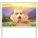 Poodle Meadow Yard Sign