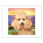 Poodle Meadow Small Poster