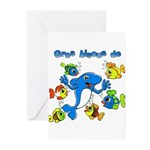 Bisous Greeting Cards (Pk of 10)