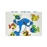 Bisous Rectangle Magnet (100 pack)