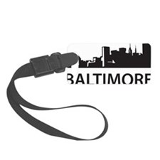 Baltimore Skyline Luggage Tag
