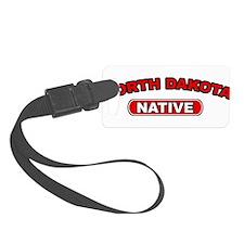 North Dakota Native Luggage Tag