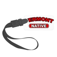 Vermont Native Luggage Tag