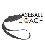 Baseball Coach Small Luggage Tag
