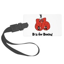 B is for Boxing Luggage Tag