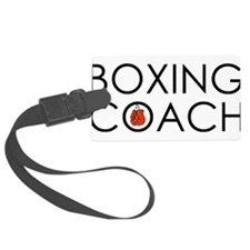Boxing Coach Luggage Tag