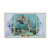 Funny Reef life Wall Decal