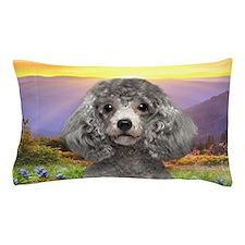Poodle Meadow Pillow Case