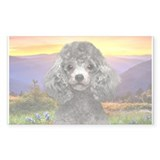 Poodle Meadow Decal