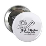 "STRUT-N TURKEY CALLS 2.25"" Button (100 pack)"