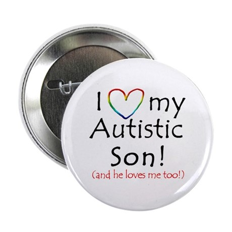Autism Awareness - Inspirational Designs! Button