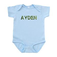Ayden, Vintage Camo, Infant Bodysuit