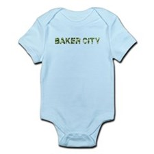Baker City, Vintage Camo, Infant Bodysuit