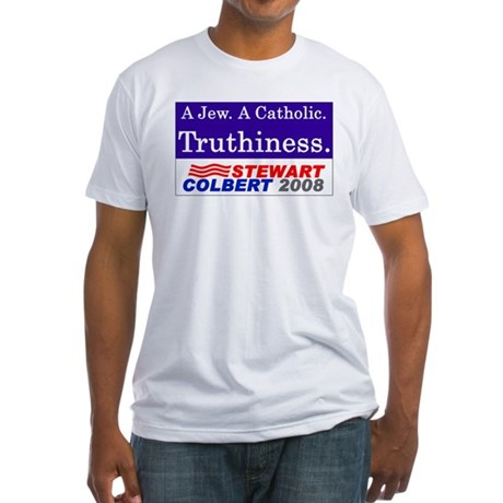 Truthiness 2008 Fitted T-Shirt