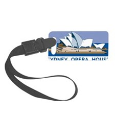 Sydney Opera House Small Luggage Tag