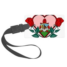 Heart Bermuda Luggage Tag