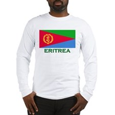 Eritrea Flag Stuff Long Sleeve T-Shirt