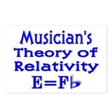 Music Theory Teacher 2 Postcards (Package of 8)
