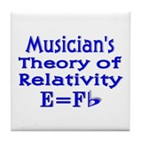 Music Theory Teacher 2 Tile Coaster